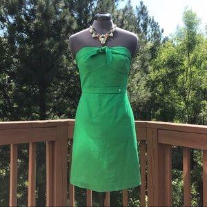 Cremieux Dress • Strapless Green Dress